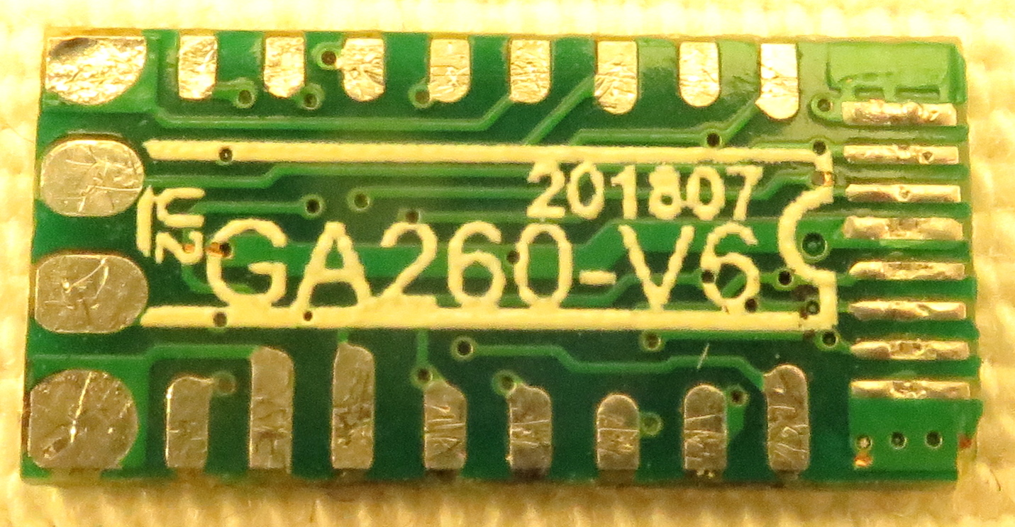 PCB view of the top side
